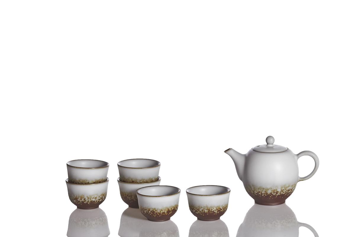 Bliss-Tea-Set-Oil-spot-White-Glaze